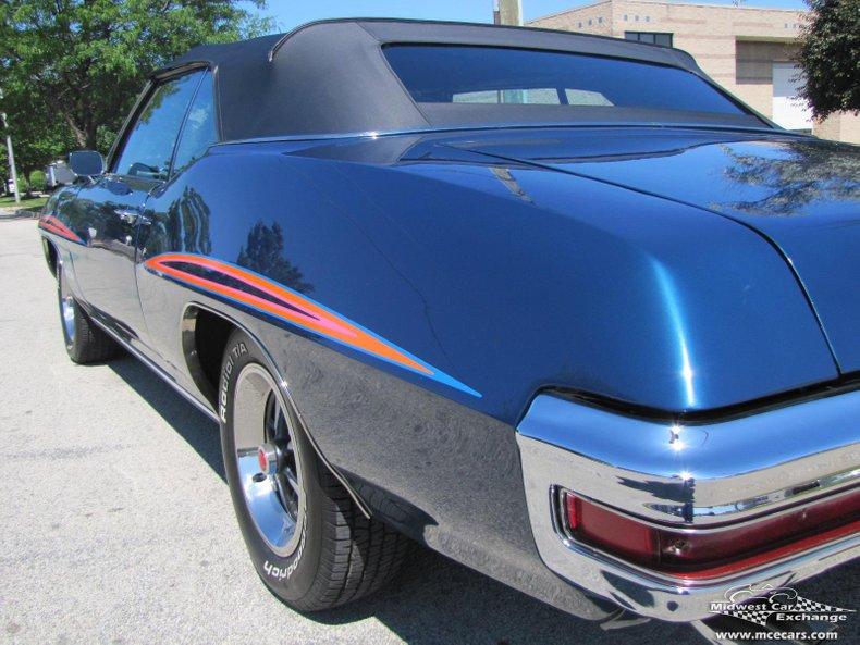 1970 pontiac gto convertible clone