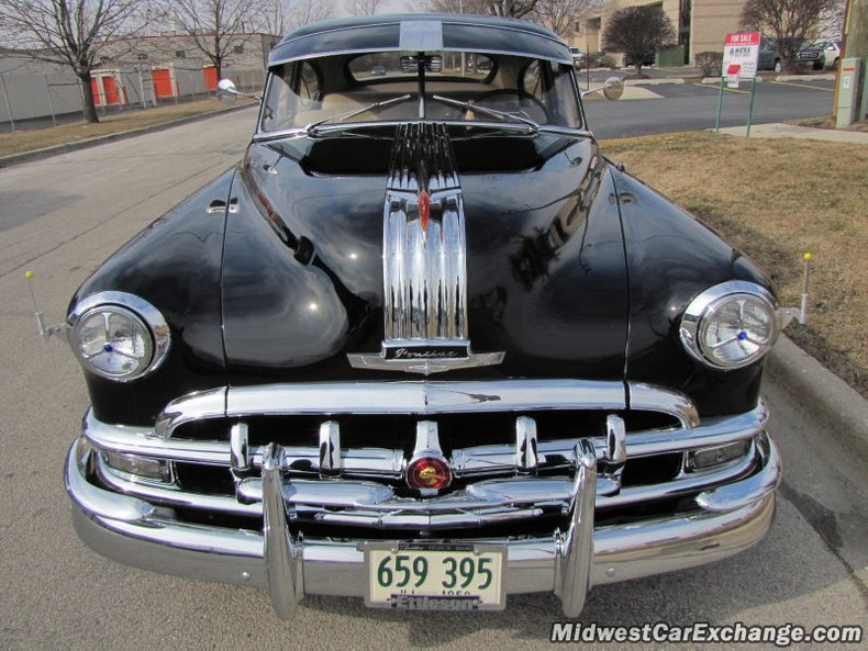 1950 pontiac streamliner eight deluxe