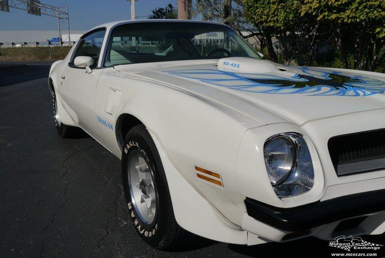1974 pontiac trans am 455 sd
