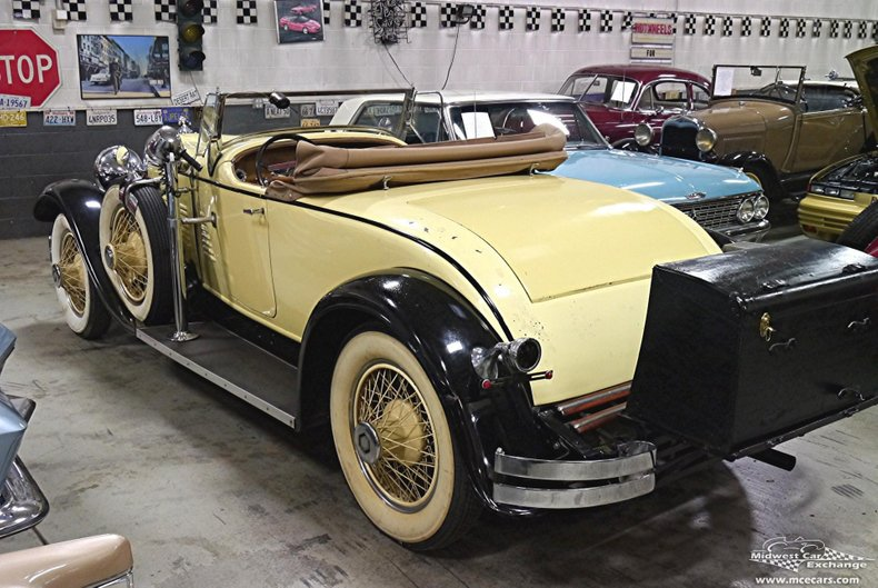 1930 stutz m8 roadster lebaron body roadster