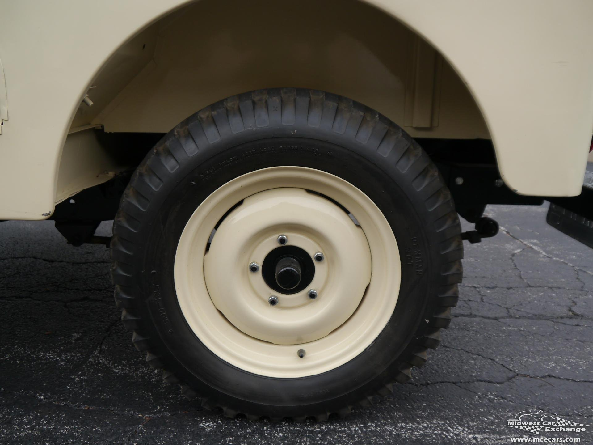1955 Willys Jeep Midwest Car Exchange Serial Number Location
