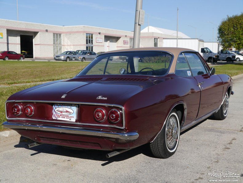 1967 chevrolet corvair monza sport coupe