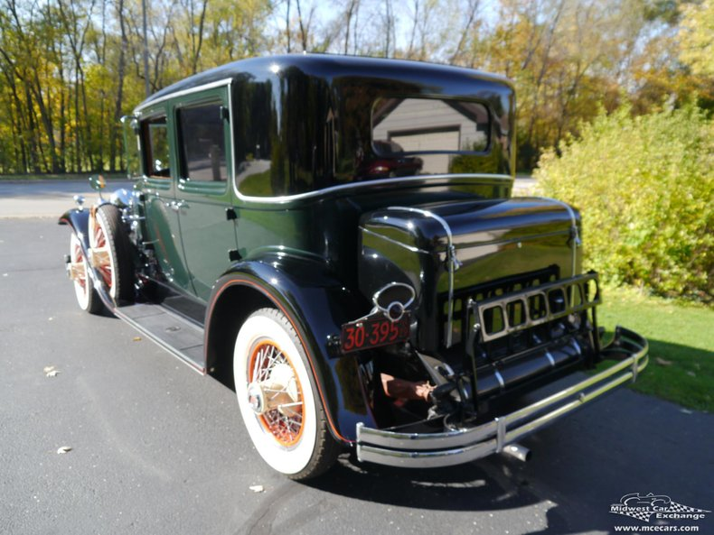 1929 lasalle town sedan 4 door series 328