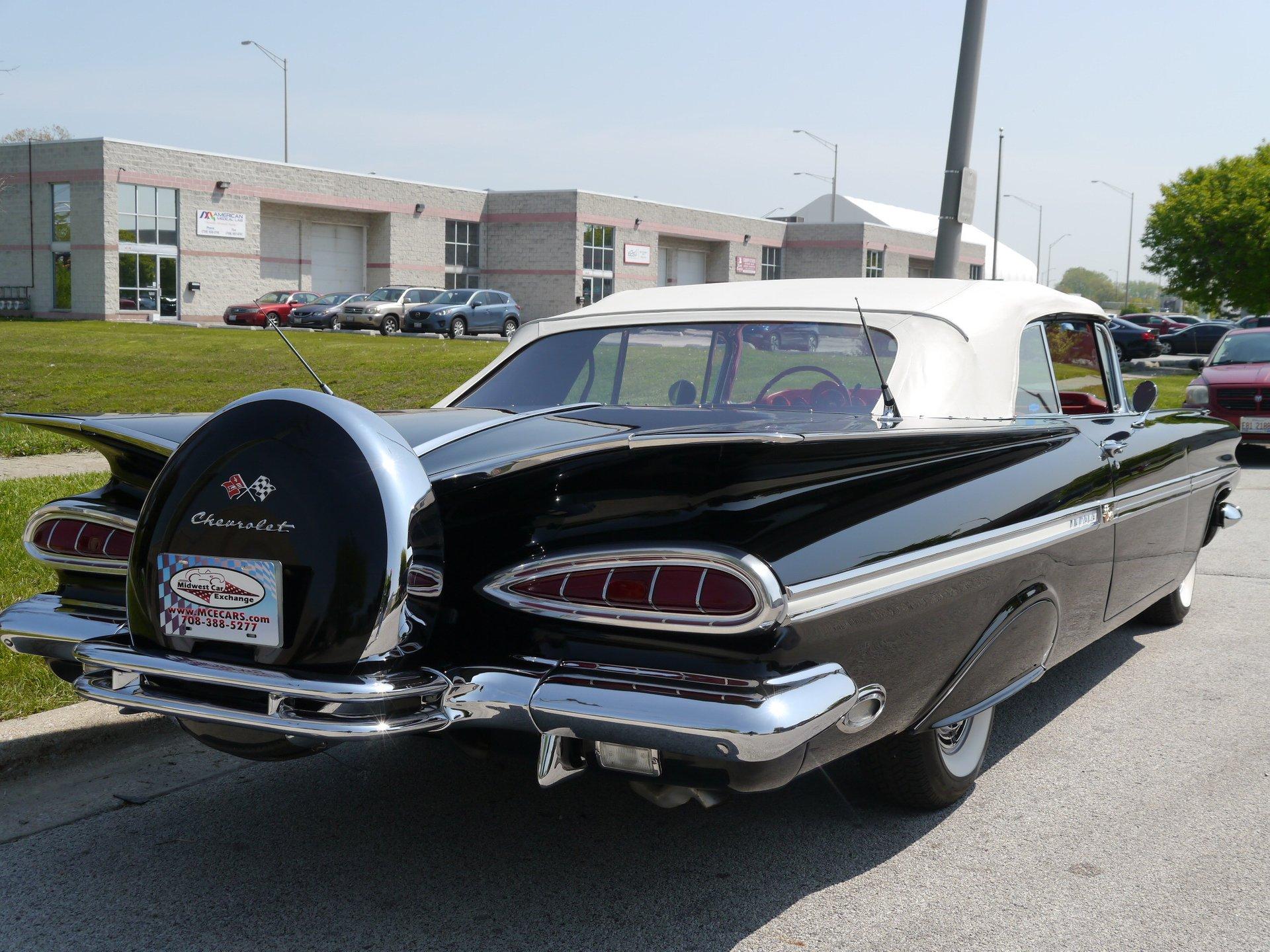 1959 Chevrolet Impala Convertible for sale #50656   MCG