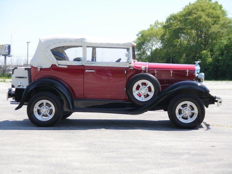 1931 ford model a phaeton replicar by glassic
