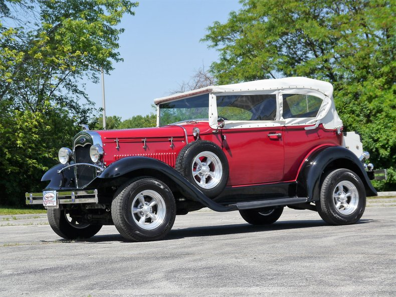 1931 ford model a phaeton replicar by glassic