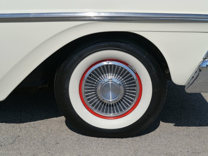 1958 ford fairlane 500 skyliner retractable
