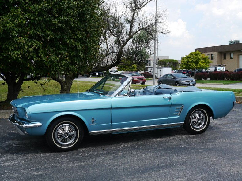 1966 ford mustang convertible