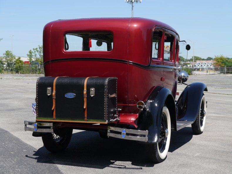 1931 ford model a slant window fordor