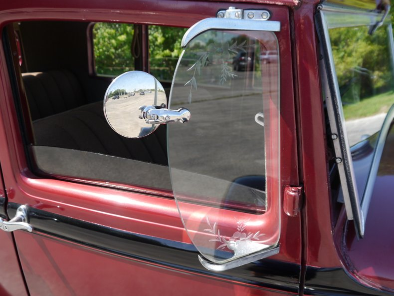 1931 ford model a slant window fordor