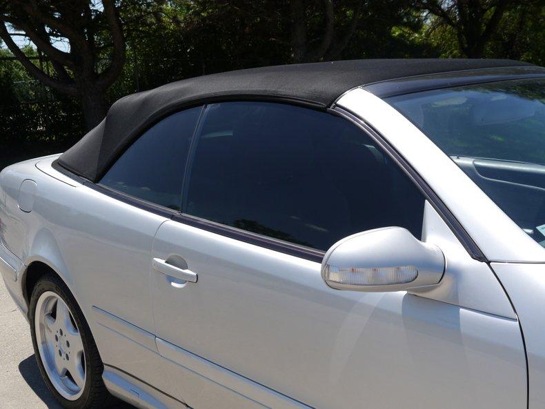 2001 mercedes benz clk430