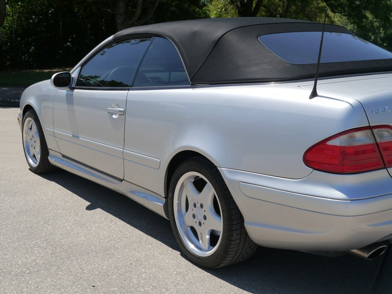 2001 mercedes benz clk430