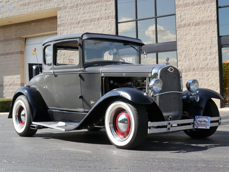 1931 ford model a 5 window coupe street rod