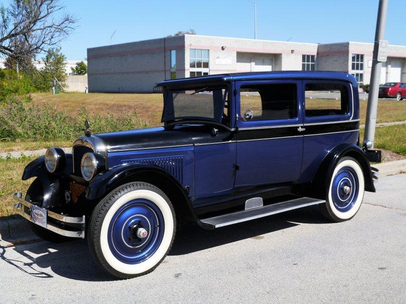 1927 nash special six