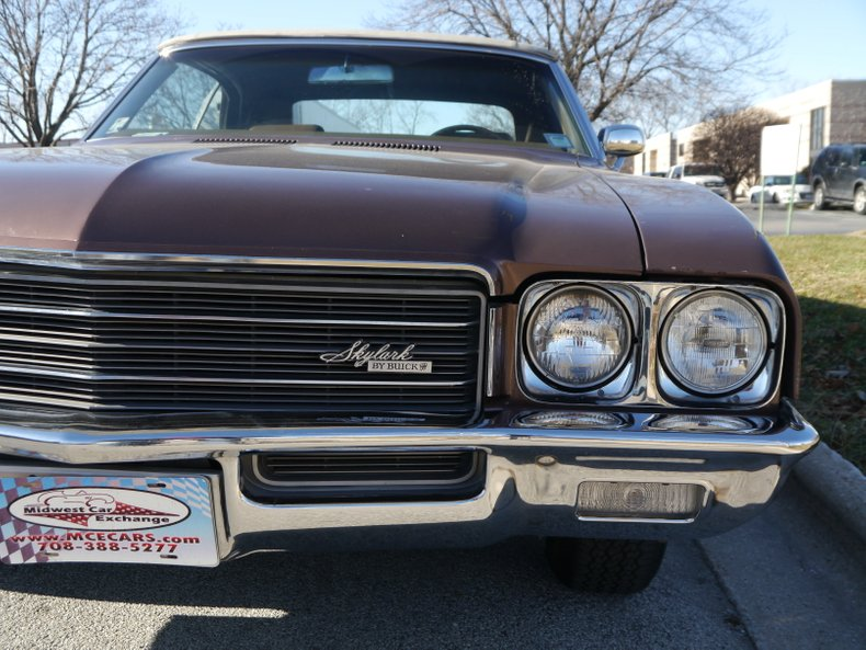 1971 buick skylark custom convertible