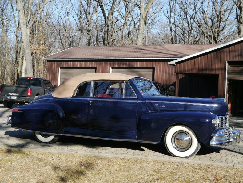 1948 Lincoln Zephyr Convertible For Sale 78340 Mcg