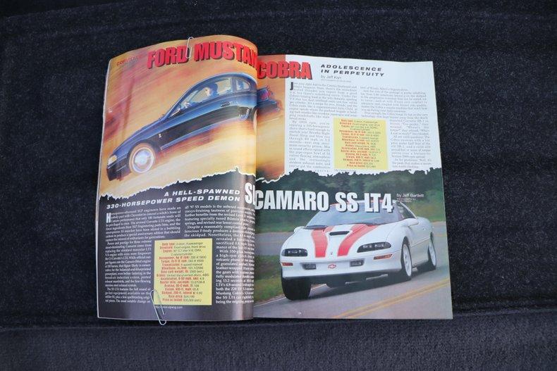 1997 chevrolet camaro z28 ss lt4