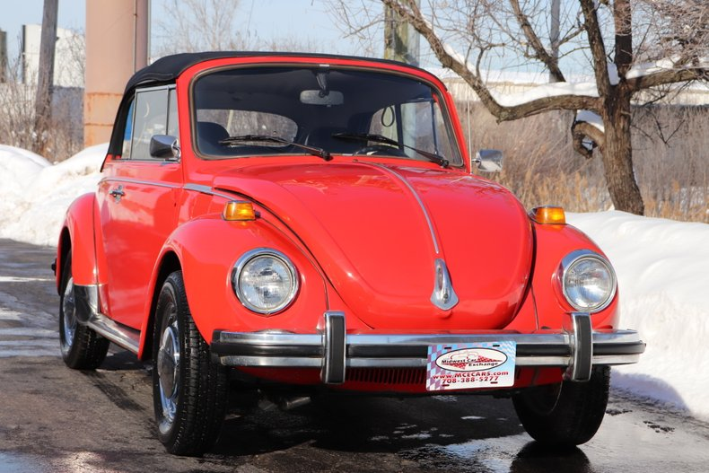 1978 volkswagen super beetle convertible
