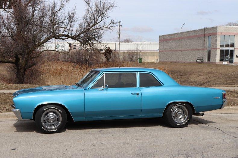 1967 chevrolet chevelle series 300