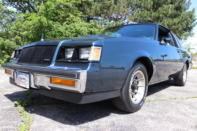 1987 buick regal t type