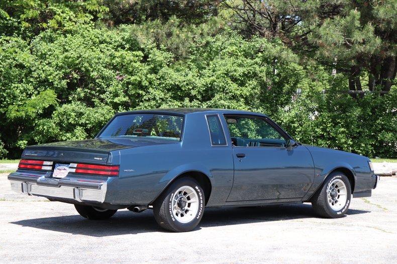 1987 buick regal t type