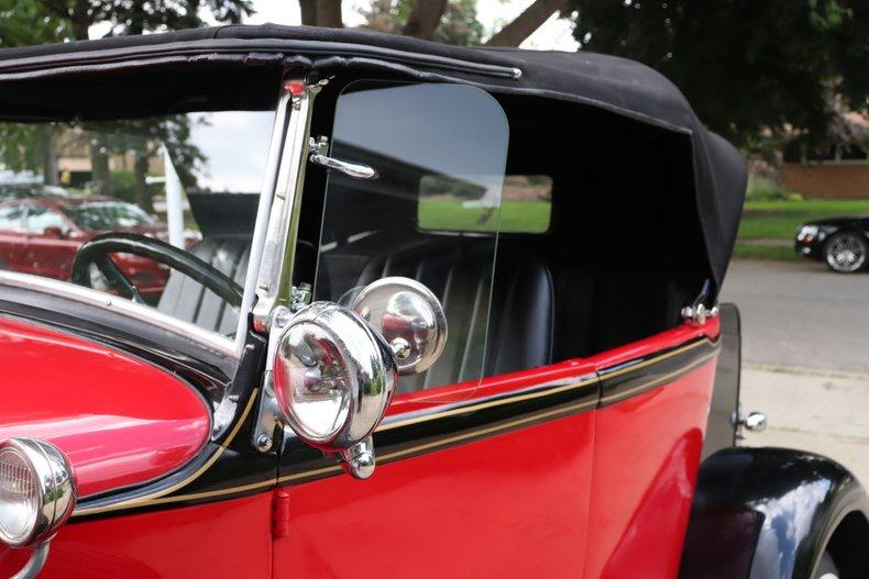 1931 ford model a custom sport roadster