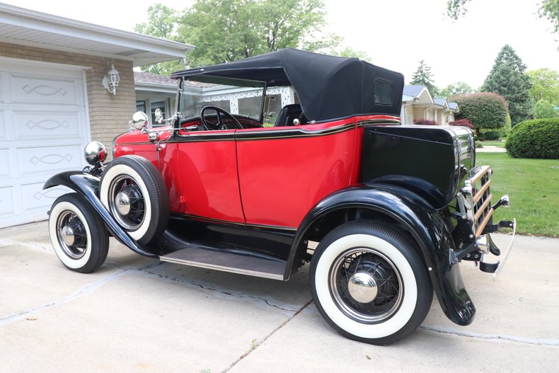 1931 ford model a custom sport roadster