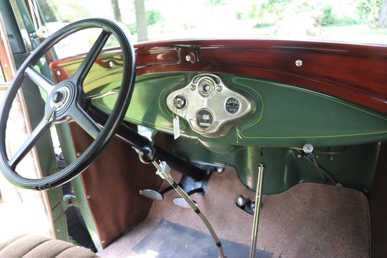 1931 ford model a fordor