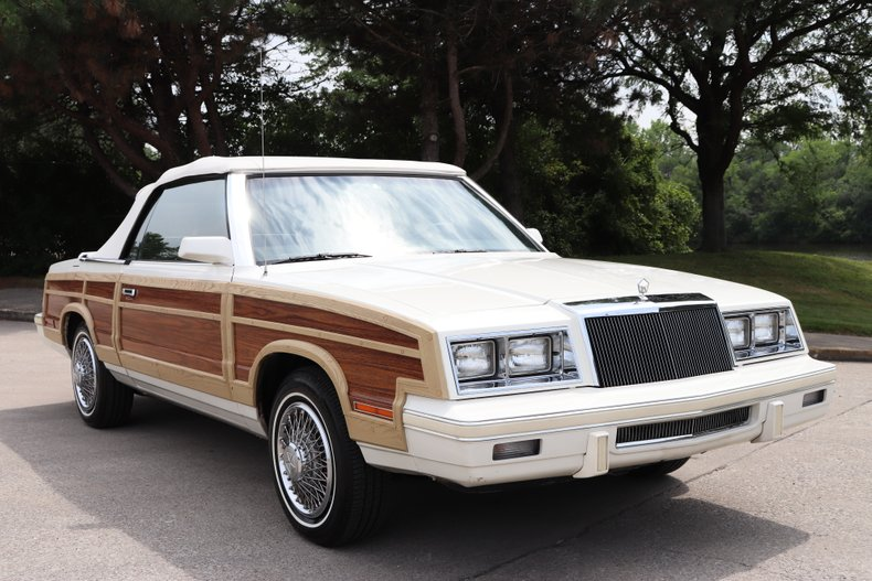 1984 chrysler lebaron mark cross town country convertible