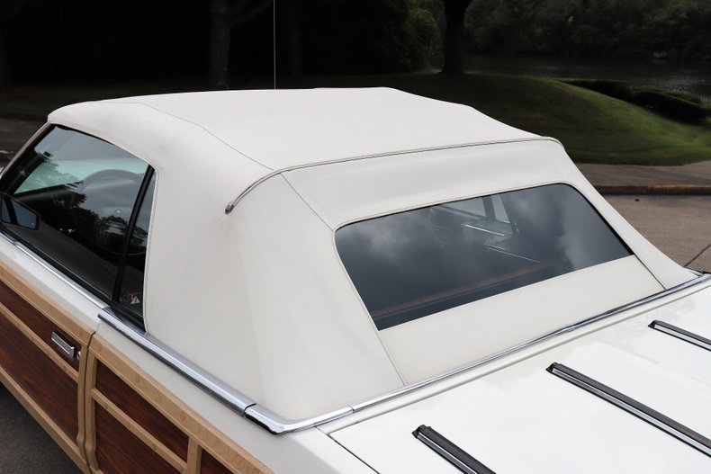 1984 chrysler lebaron mark cross town country convertible