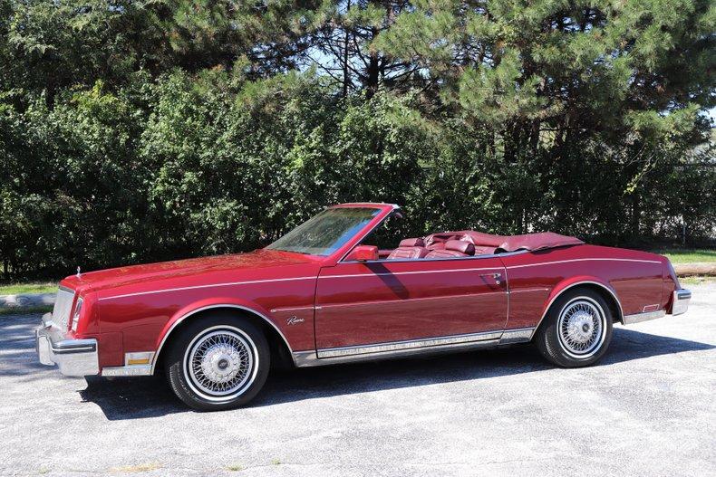 1983 buick riviera convertible