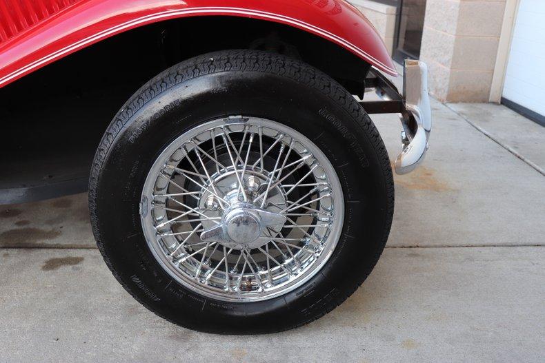 1953 mg td roadster replica