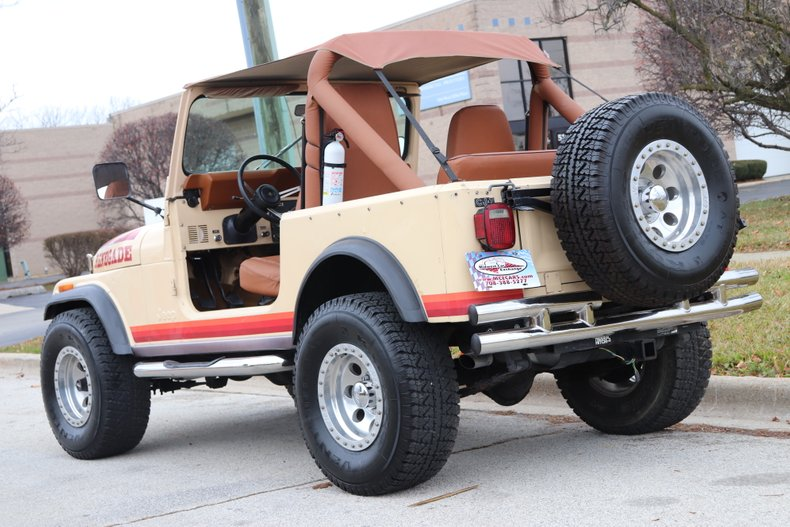 1982 jeep cj 7 renegade