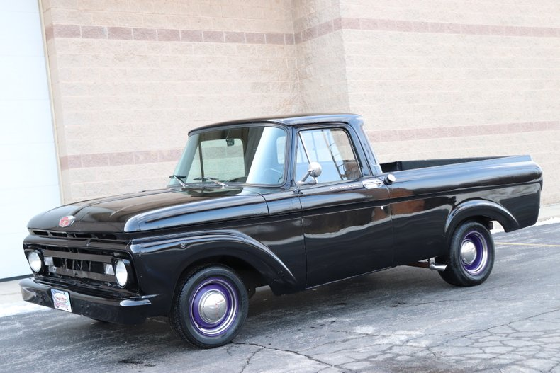 1961 ford f100 custom cab pick up