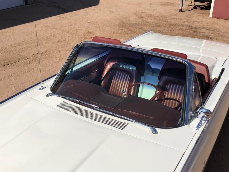 1962 ford thunderbird convertible