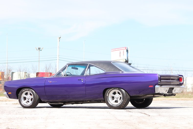 1969 plymouth road runner tribute