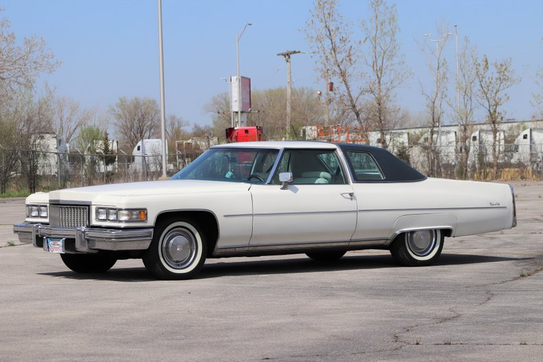 1975 Cadillac Coupe DeVille For Sale