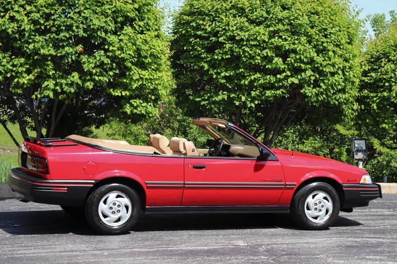 1991 chevrolet cavalier rs convertible