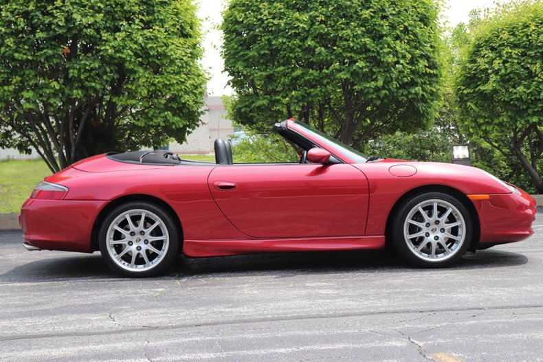 2002 porsche 911 carrera convertible