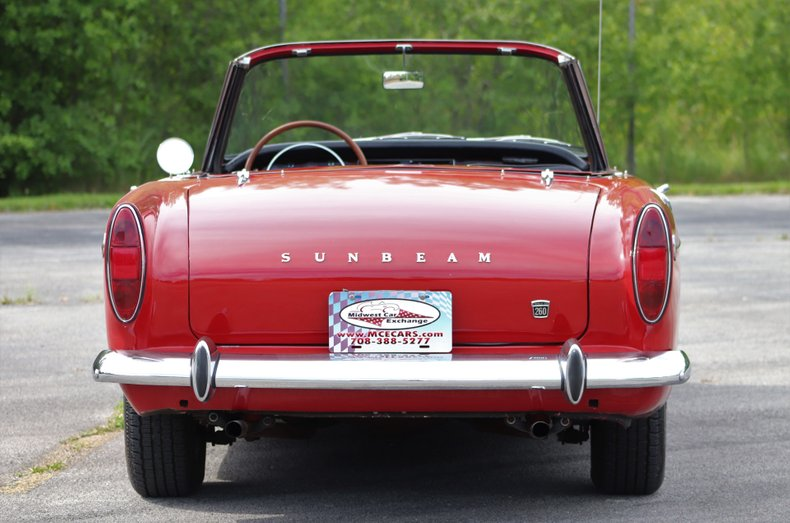 1965 sunbeam tiger rootes