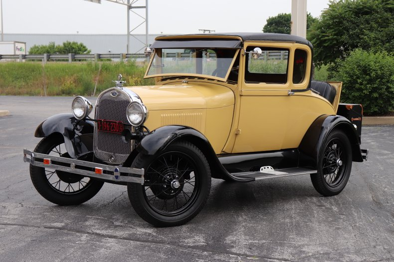 1929 ford model a special coupe