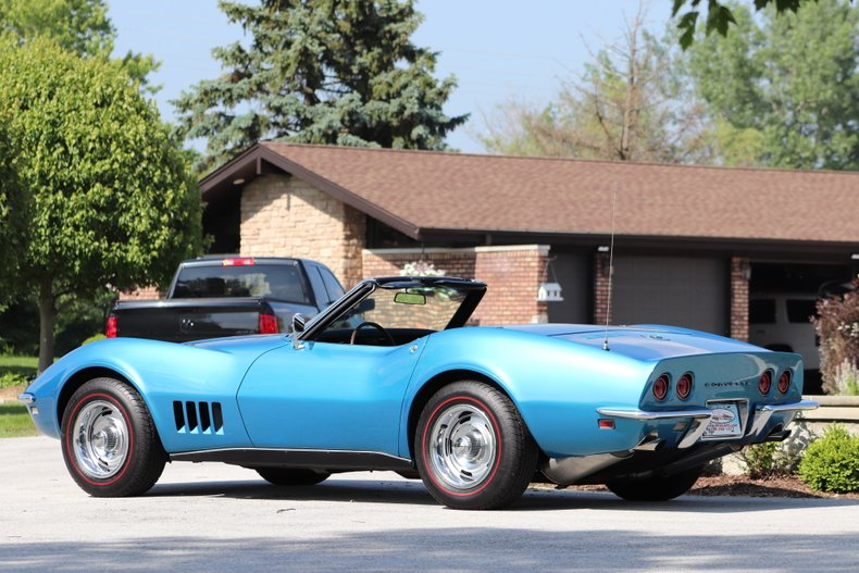 1968 chevrolet corvette stingray convertible