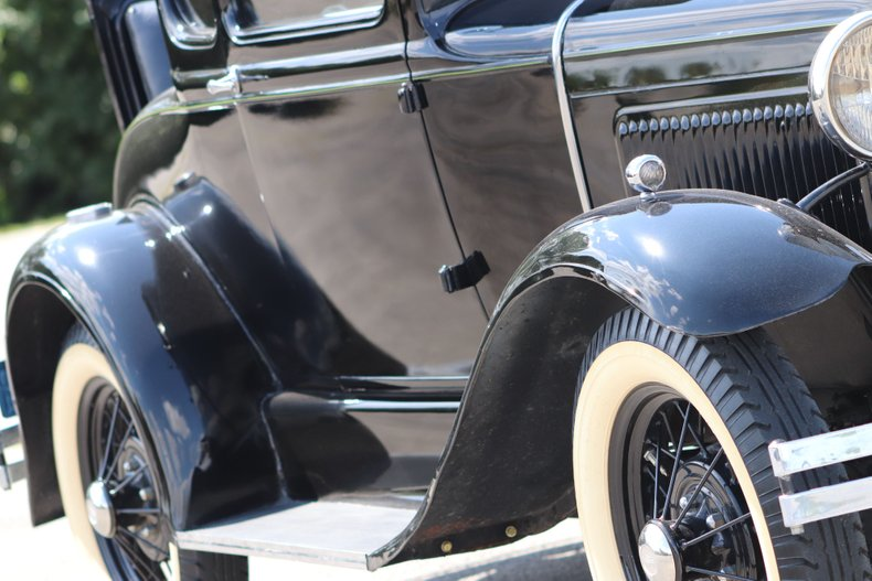 1931 ford model a special coupe
