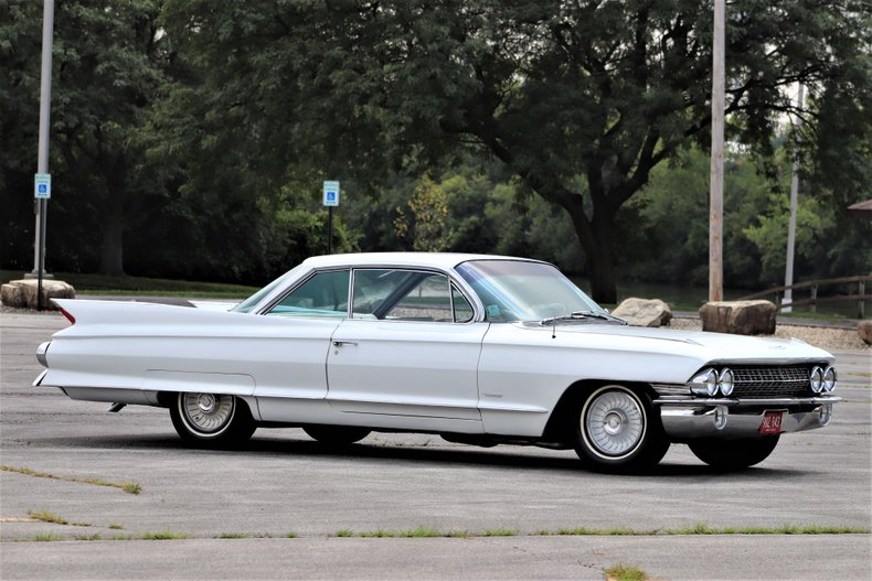 1961 cadillac 62 two door coupe
