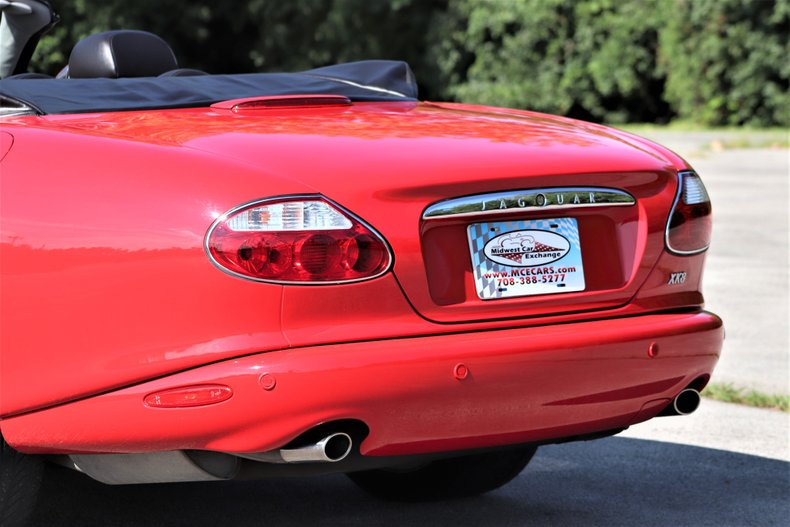 2001 jaguar xk8 convertible