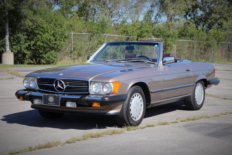 1988 mercedes benz 560 sl