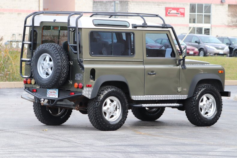 1997 land rover defender 90 le