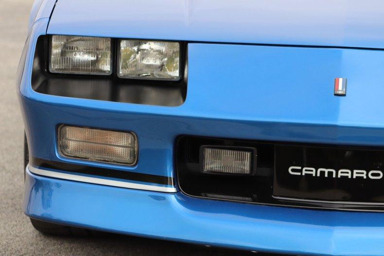 1989 chevrolet camaro iroc z convertible