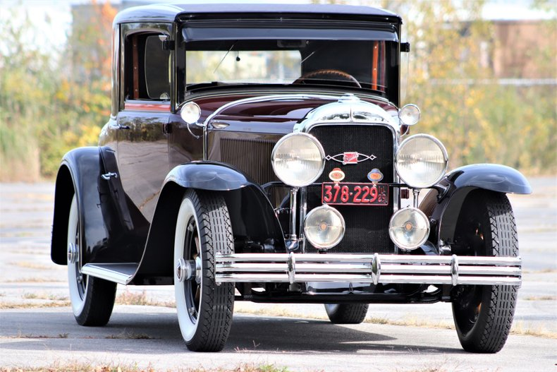1929 buick 46s two door sport coupe