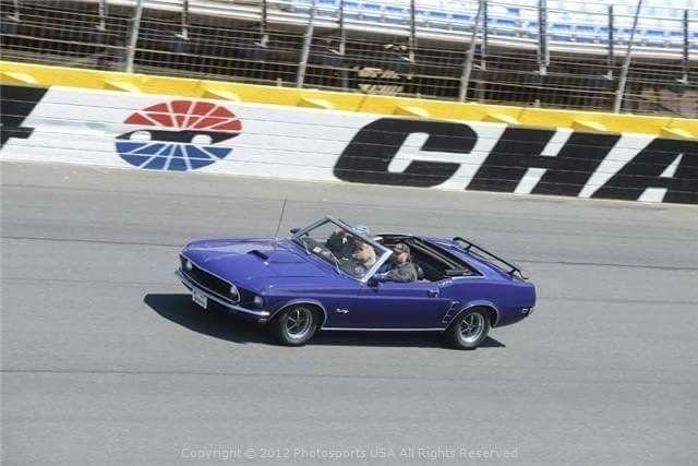 1969 ford mustang 2dr conv